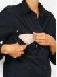 Robe chemise allaitement Juliette fente