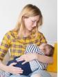 Haut d'allaitement à carreaux Amandine allaitement