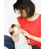Top allaitement rouge Lara