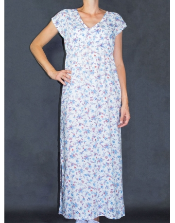 Maxi dress d'allaitement jungle