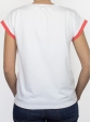 T-shirt 80's saumon dos