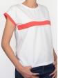 T-shirt 80's saumon profil droit