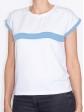 T-shirt 80's bleu