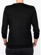 T-shirt d'allaitement noir manches trois-quart dos